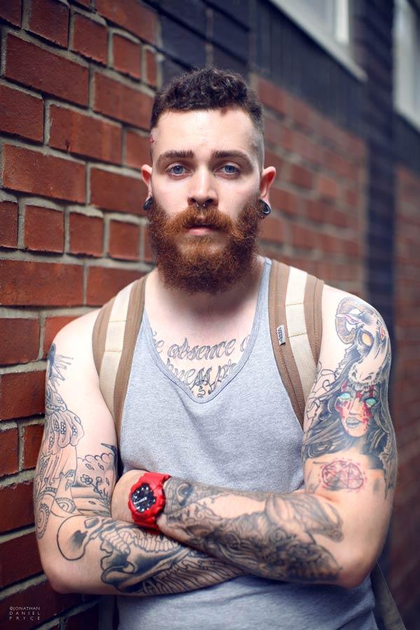 Jonathan Daniel Pryce - Photographer Beards Fashion
