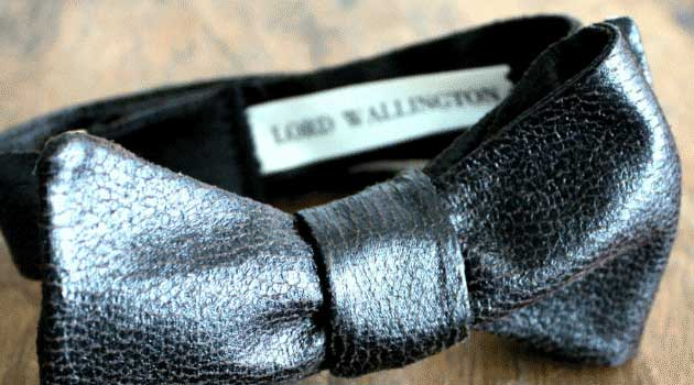 Leather Bow Tie – Bow Ties Gone Wild