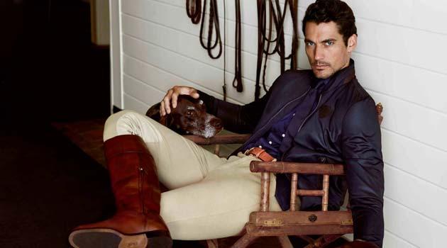 Equestrian Fashion – David Gandy for Massimo Dutti