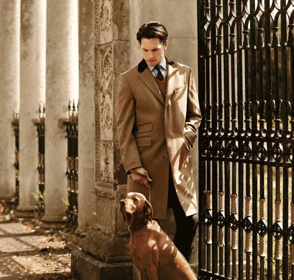Stuart London Designer Knew Length Crombie