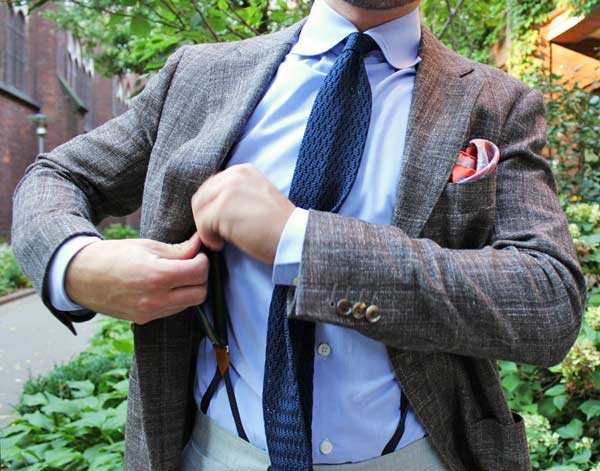 Business Suits for men pocket square