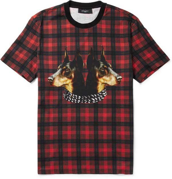 Check - T- Shirt Mr Porter