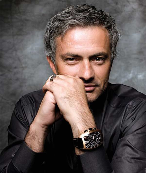 Jose Mourinho Classic cut crop hairstyle for men
