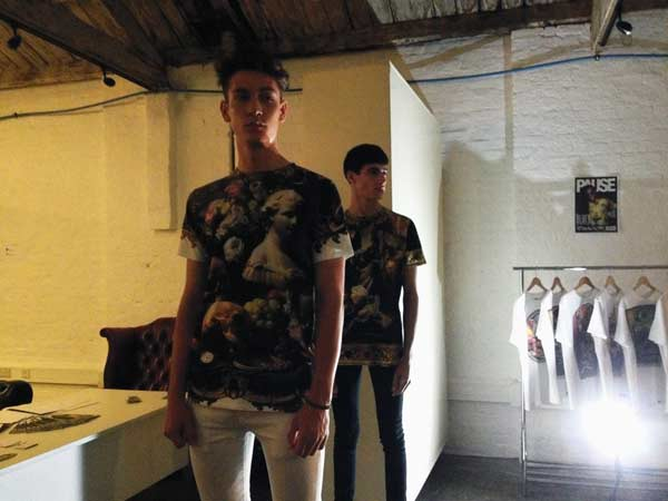 PAUSE magazine  camo shirts