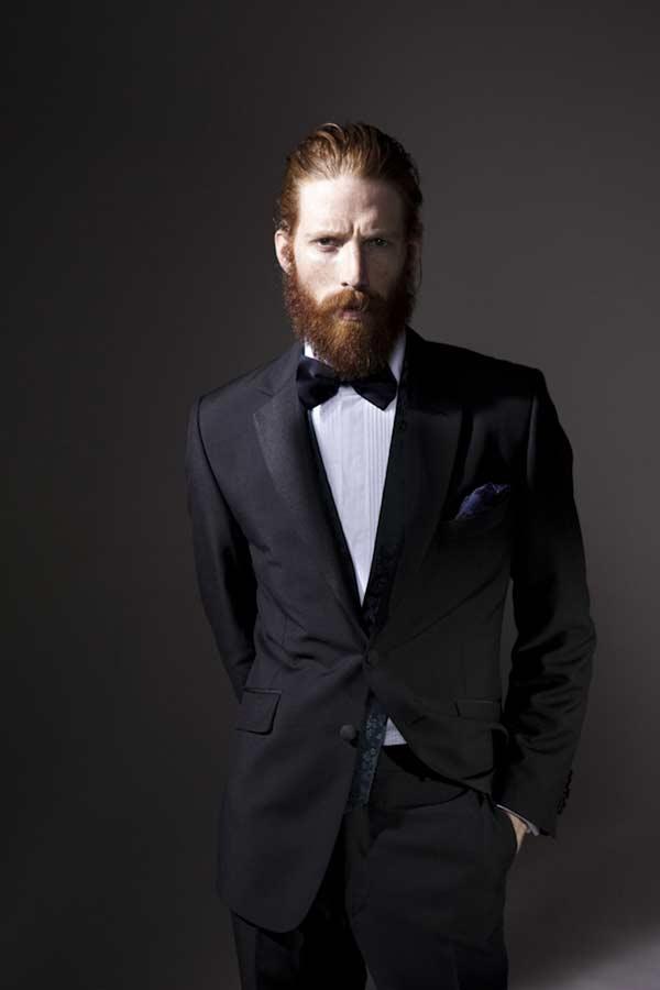 Waistcoats worn with a Tuxedo beards