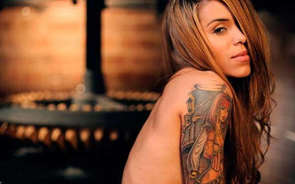 Arabella Drummond - Tattoo Model