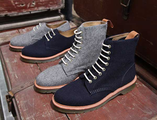 Dr Martens Boots grey and blue