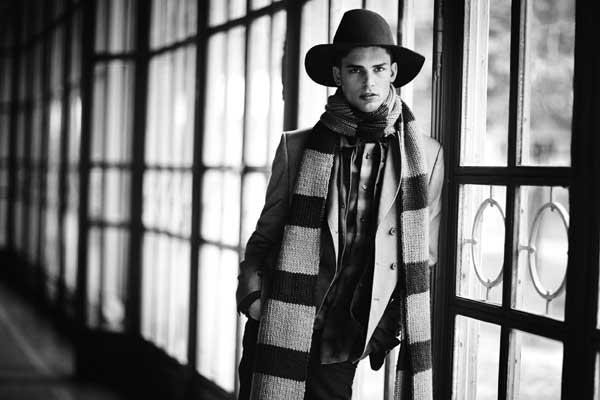 KNITWEAR - scarf for men