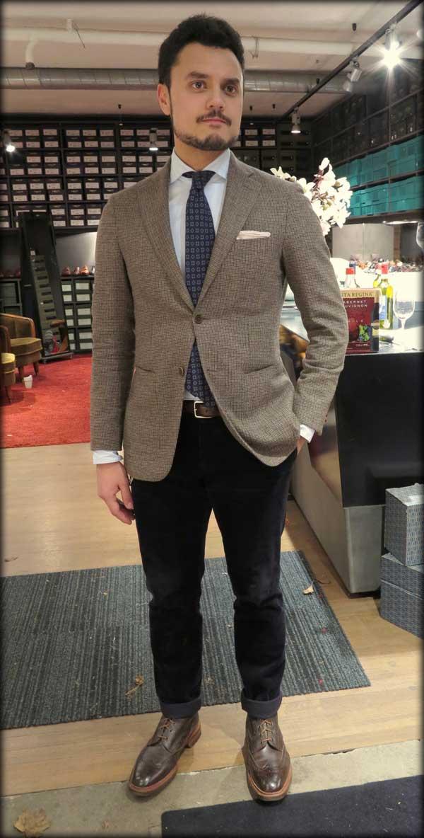 Winter Wardrobe for men tweed