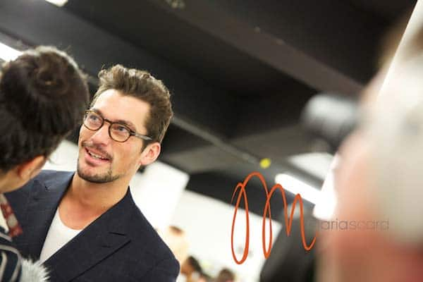 David Gandy - London Collections Men Breakfast MSF