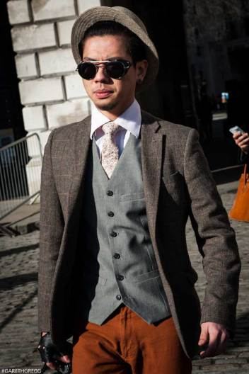 London Fashion Week 2014 - MenStyleFashion Street Photography (26)