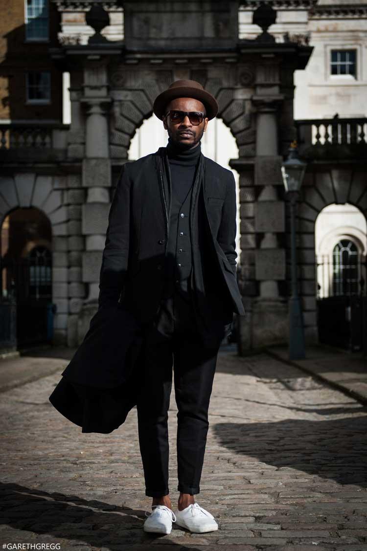London Fashion Week Street Style , Real Men Don\u0027t Pose , Men
