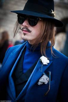 London Fashion Week 2014 - MenStyleFashion Street Photography (80)