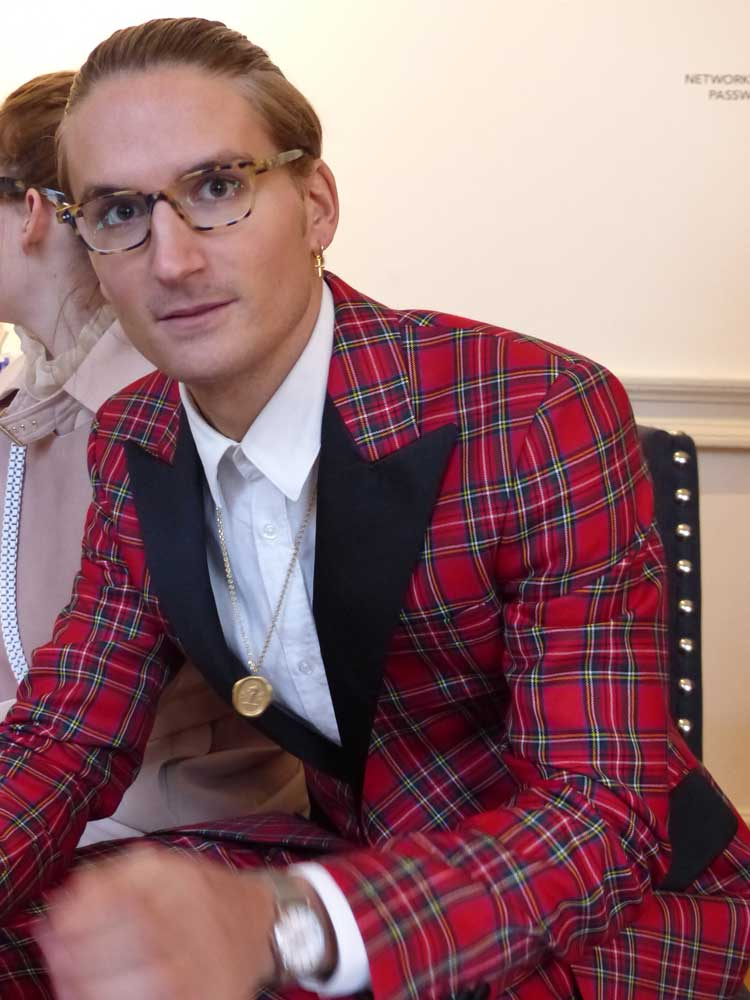 Oliver Proudlock - Bespoke Fitted Tuxedo Tartan (2)