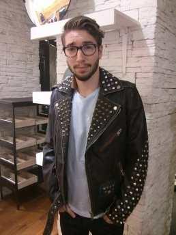 deisel leather mnes jacket 2014