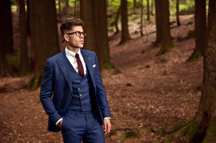 'The-Ferguson'---Bright-blue-flannel-pinstripe-3-piece-suit