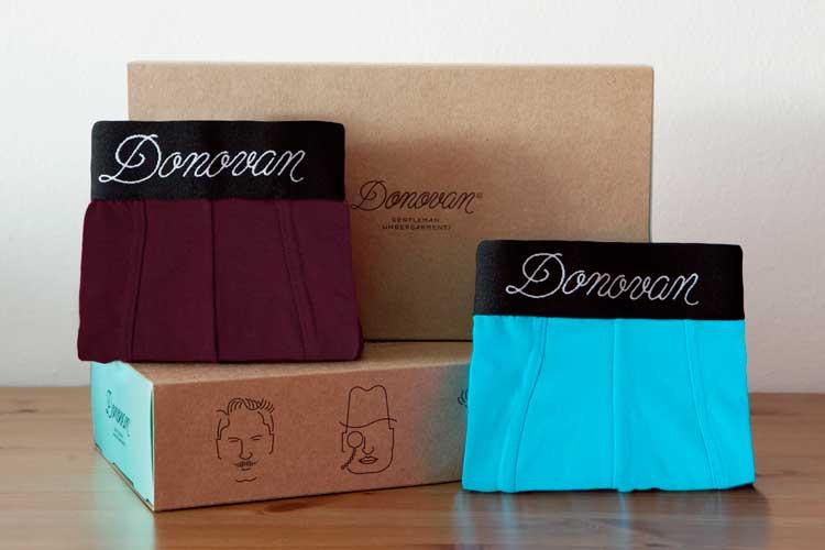 Donovan Gentleman Undergarments – For The Perfect Packaging