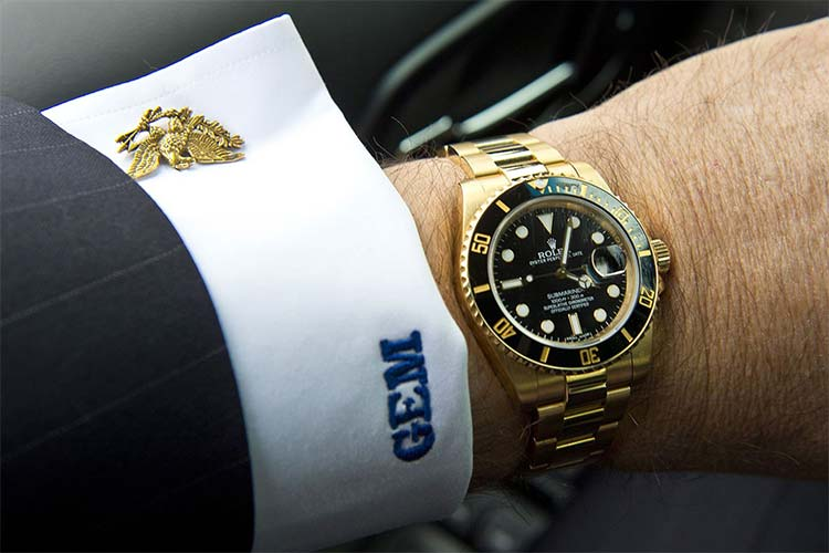 A rolex is like an engagement ring for men