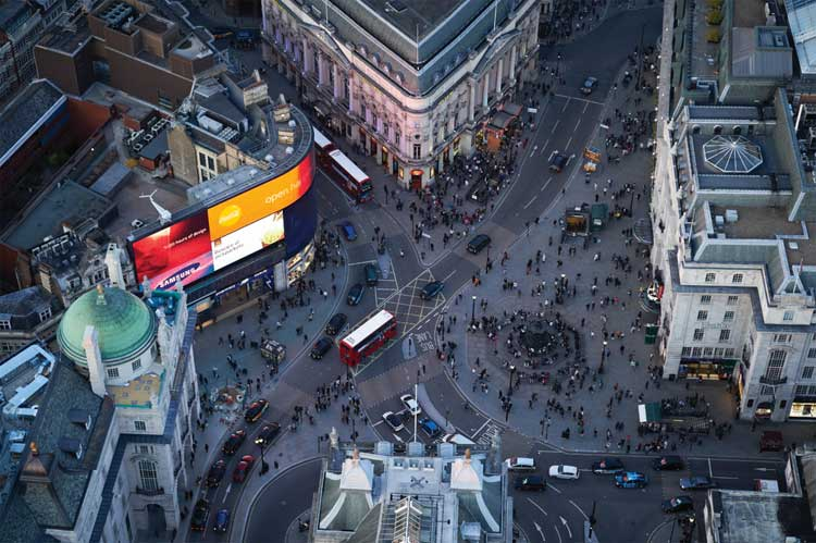 Cafe Royal Hotel - Piccadilly Circus London (2)