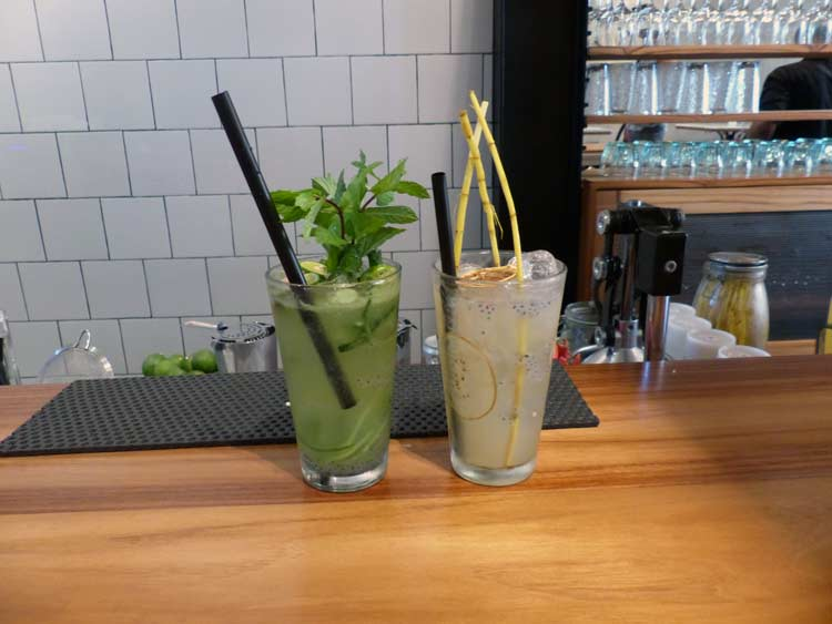 Various Delicious Mock-tails