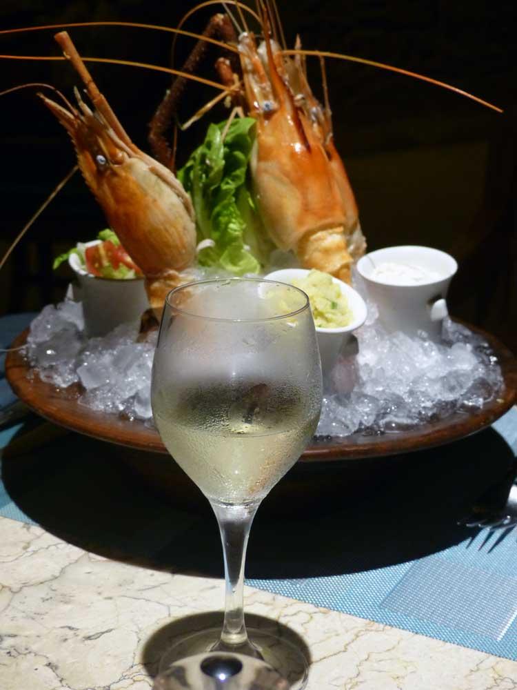 Riverside-cafe-four-seasons-Bali-at-Sayan-prawns-3