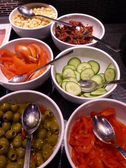 Beautiful presented food