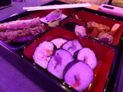 Sushi, Tempura Prawns, Oyster