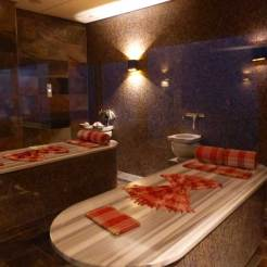 The Hamam heated massage table