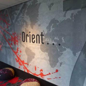 Floor 8 with the Orient theme