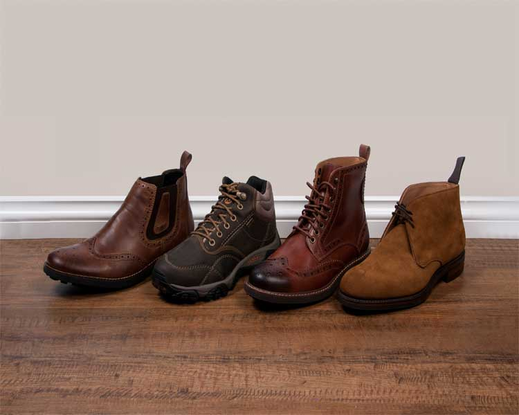 Winter Shoes – 4 Essential Men's Boot Styles