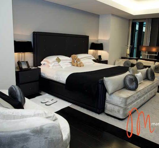 Bedroom at Mayfair Penthouse