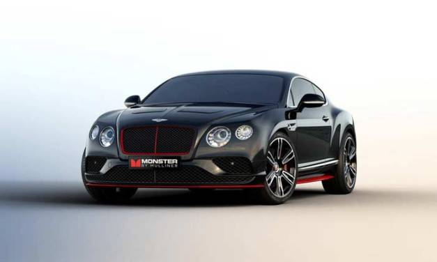 Bentley And Monster Debut at CES – MONSTER BY MULLINER