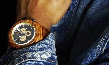 Pacific Standard Time – Wooden 10 ATM Waterproof Watch – Kickstarter