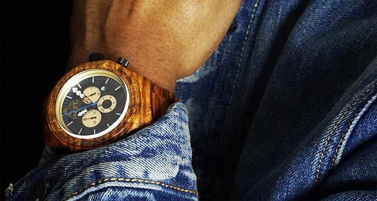 Pacific Standard Time – Wooden 10 ATM Waterproof Watch – Kickstarter