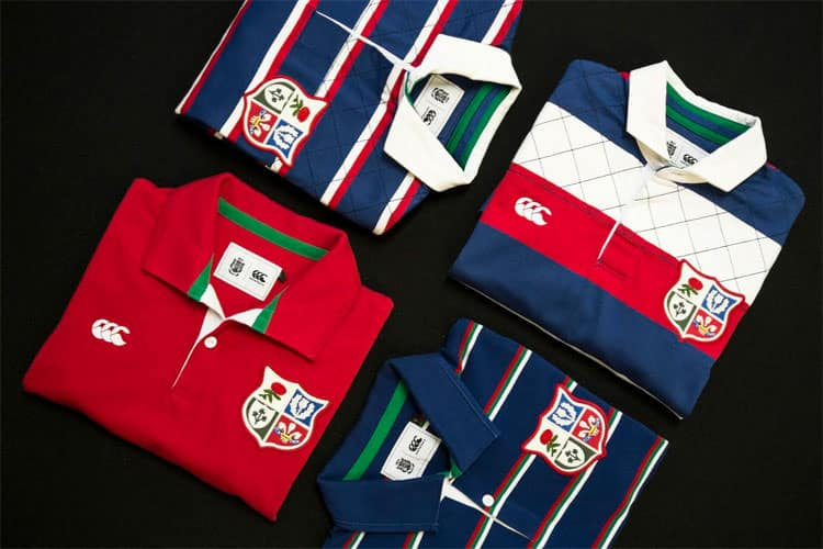 Canterbury – Since 1888 British & Irish Lions Rugby Collection