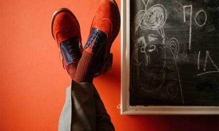 The Red Oxford Shoes