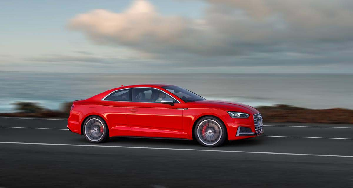 New Audi A5 and S5 Coupe Reviewed In Porto Portugal