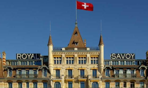 Royal Savoy Lausanne – Restored Grand Swiss Dame