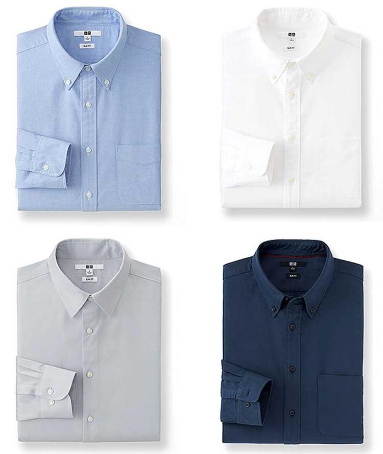 Oxford-Button-Down-Shirts