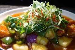 Alila king prawn from the wok