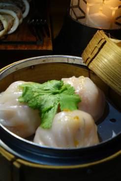 Alila siew may steamed chicken & prawn dumpling