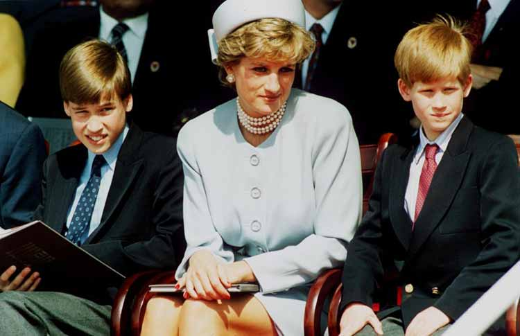 Prince William & Prince Harry – The Eaton School Boys