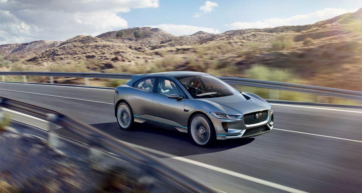 Jaguar Electrifies – The I-PACE Concept Car Revealed