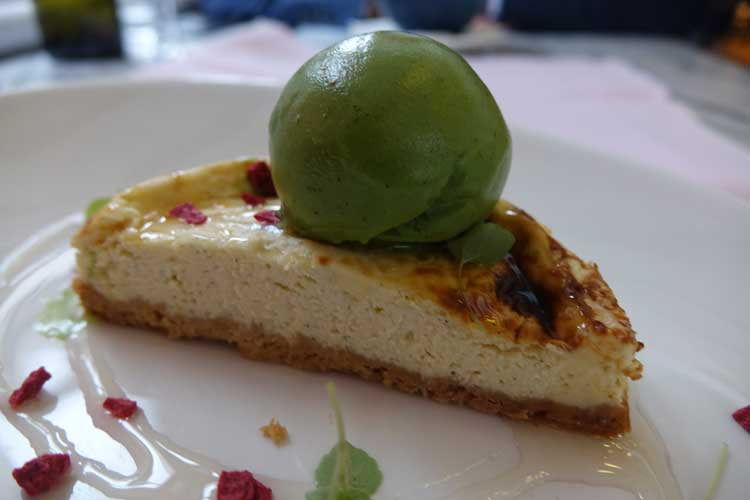 new-york-cheese-cake-pistachio-sorbet