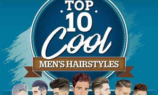 Top 10 Cool Hairstyles For Men