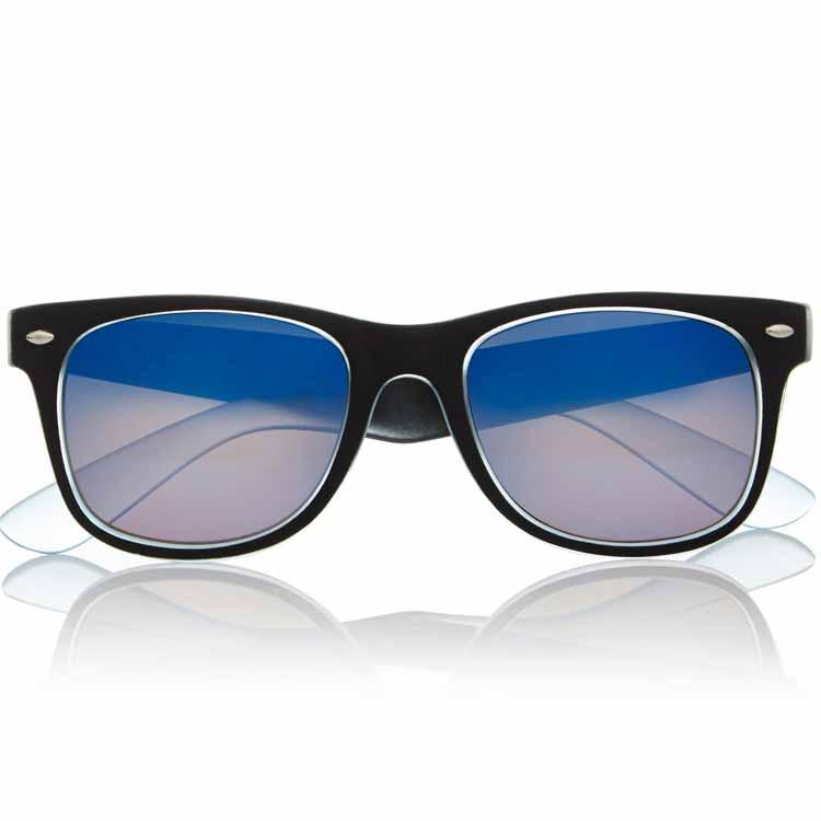 River Island Blue-Faded Retro Sunglasses