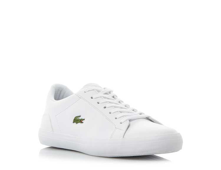 Lacoste Pique Lace-Up Training Shoes- Dune £75.00