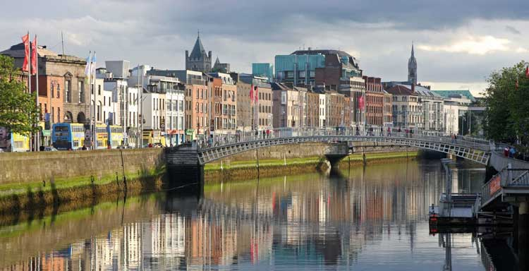 Luckiest Countries - Our Top Four - Dublin Ireland