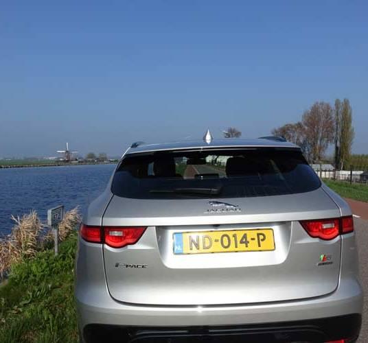 Jaguar F-Pace Model S – Driven Through Holland & Germany