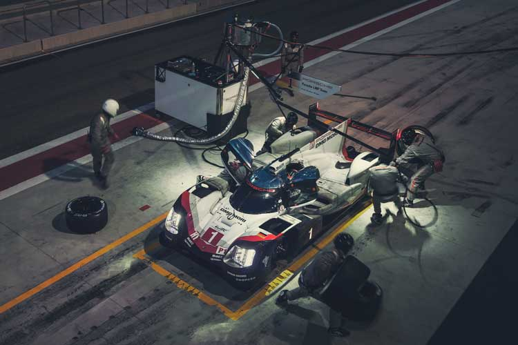 Le Mans 24 - 8 Countries 7 Cars 5,406 KM & 66 HOURS
